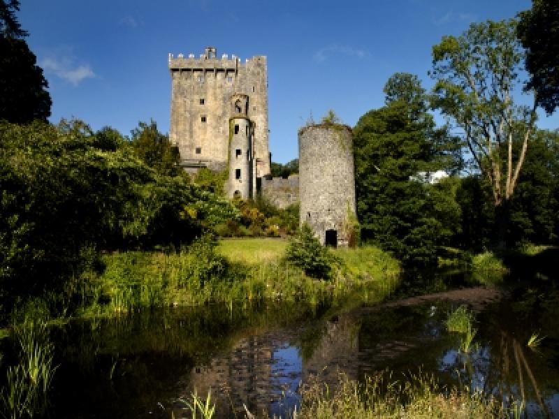 Blarney Castle - seat of the Muskerry McCarthy Clan.