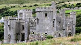 Clifden Castle, Wild Atlantic way tour
