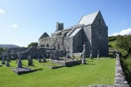 Corcomroe abbey, Wild Atlantic way tour